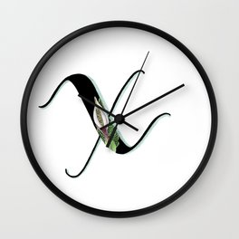 xanthosma Wall Clock