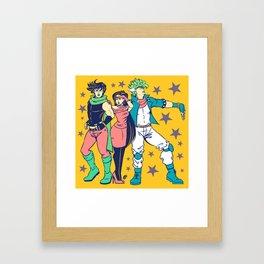 Hamon Trinity Framed Art Print