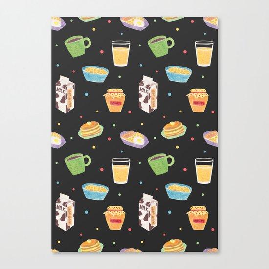 Yummy Breakfast Canvas Print