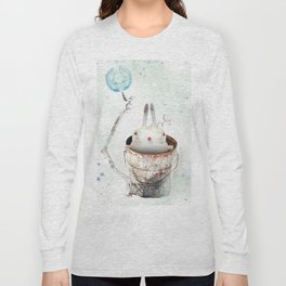 Can time the rabbit Long Sleeve T-shirt