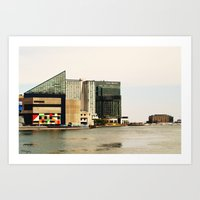 the national Art Prints featuring National Aquarium  by 1000images