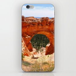 Natural Bridge - Bryce Canyon iPhone Skin