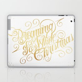 Dreaming of a White Christmas Laptop & iPad Skin