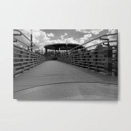 Bridge in Kingsley Falls, #Canada Metal Print