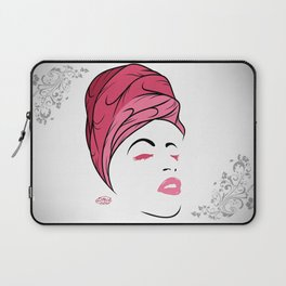 Lady Wrap (pink) Laptop Sleeve