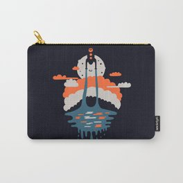 Happy Rocketship Carry-All Pouch