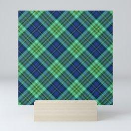 Scottish tartan #22 Mini Art Print