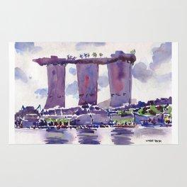 20140318 Marina Bay Sands Rug