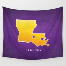 Louisiana State Tigers Wall Tapestry
