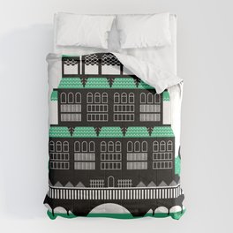 The Cosy Cottage ( 2-Colour) Comforters