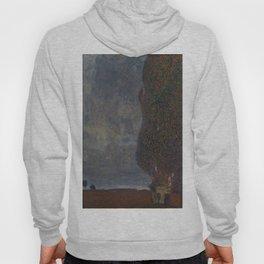 Gustav Klimt - Approaching Thunderstorm Hoody