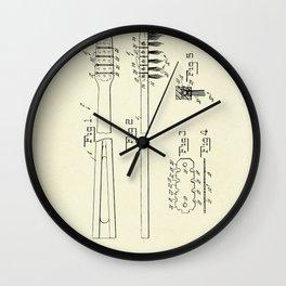 Toothbrush-1953 Wall Clock