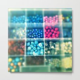 Beads galore Metal Print