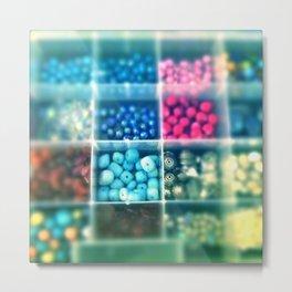 Beads galore Metal Print