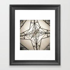 Electricity Framed Art Print