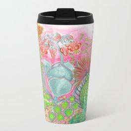 Succulent Love Metal Travel Mug