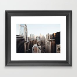 Good Morning, Chicago Framed Art Print