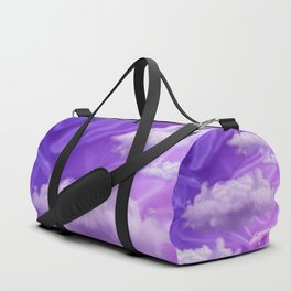 """Violet pastel sweet heaven and clouds"" Duffle Bag"