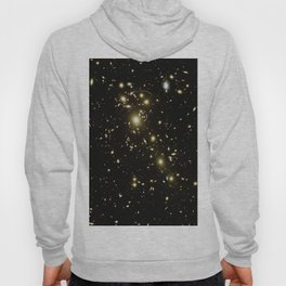 Distant galaxies, Abell 1703. Hoody