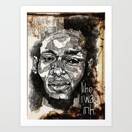The Mighty Mos Def. Art Print
