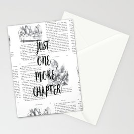 One More Chapter Stationery Cards