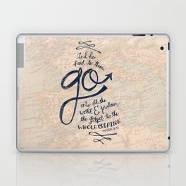 Go Into All The World Laptop & iPad Skin
