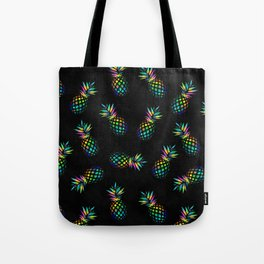 Iridescent pineapples Tote Bag