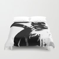depeche mode Duvet Covers featuring Mode by Davann Creations