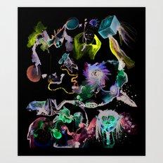 Cooperative Chaos Art Print