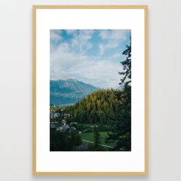 The Slovenian Alps Framed Art Print