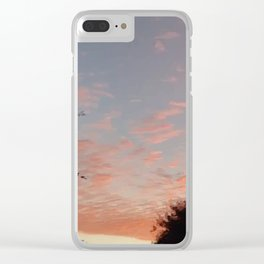 Texas Hill Country Sky - Sunrise 3 Clear iPhone Case