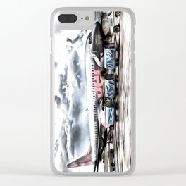 Boeing 737 Art Clear iPhone Case