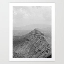 brecon beacons, wales Art Print