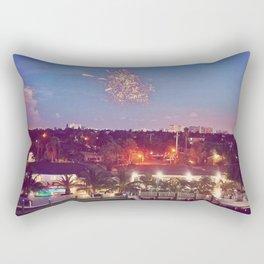 Fireworks 4 Rectangular Pillow