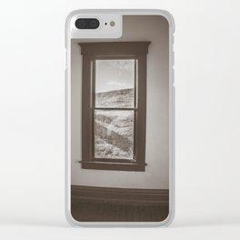 Hurd Round House, Wells County, North Dakota 37 Clear iPhone Case