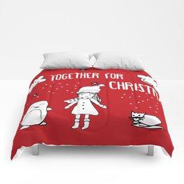 Together for Christmas Comforters