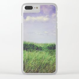 Beach Dunes - Summer of Love Clear iPhone Case