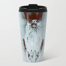 The haunted deer skull Travel Mug