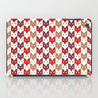 foxes iPad Cases featuring Foxes  by creaziz