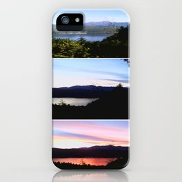 Hood Canal at a Glance iPhone Case