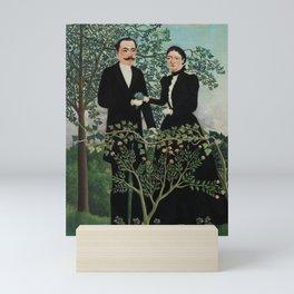 The Past and the Present, or Philosophical Thought (Le Passé et le présent, ou Pensée philosophique) Mini Art Print