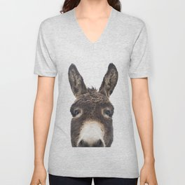 Hey Donkey Unisex V-Neck