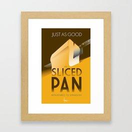 PAN-Bienvenido to Spanglish Framed Art Print