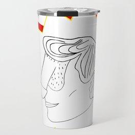 Pow! Dface Travel Mug