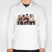 boys Hoodies featuring boys by skyberia