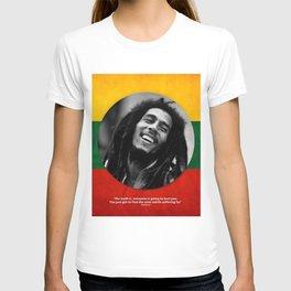 PEACE - LIFE - REGGAE T-shirt