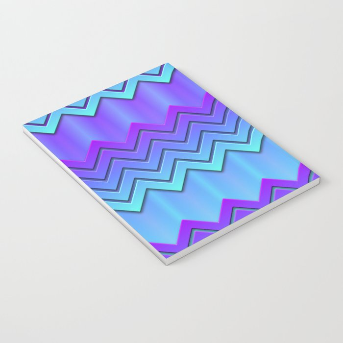 Chilly Chevrons Notebook