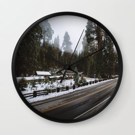 GIANT FOREST MUSEUM Wall Clock