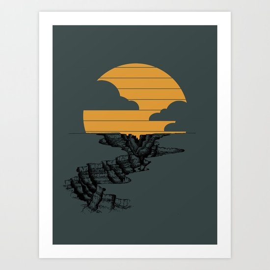 Goodnight Arizona Art Print