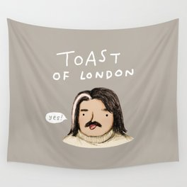 Toast of London Wall Tapestry